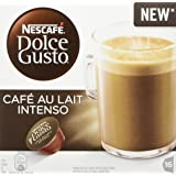 Nescafe Dolce Gusto Café Au lait Intenso Coffee Pods, Pack of 3 (Total 48 Capsules, 48 servings)