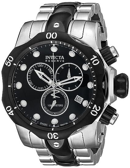 Invicta INVICTA-5727 5727 - Reloj para hombres, correa de acero inoxidable color plateado