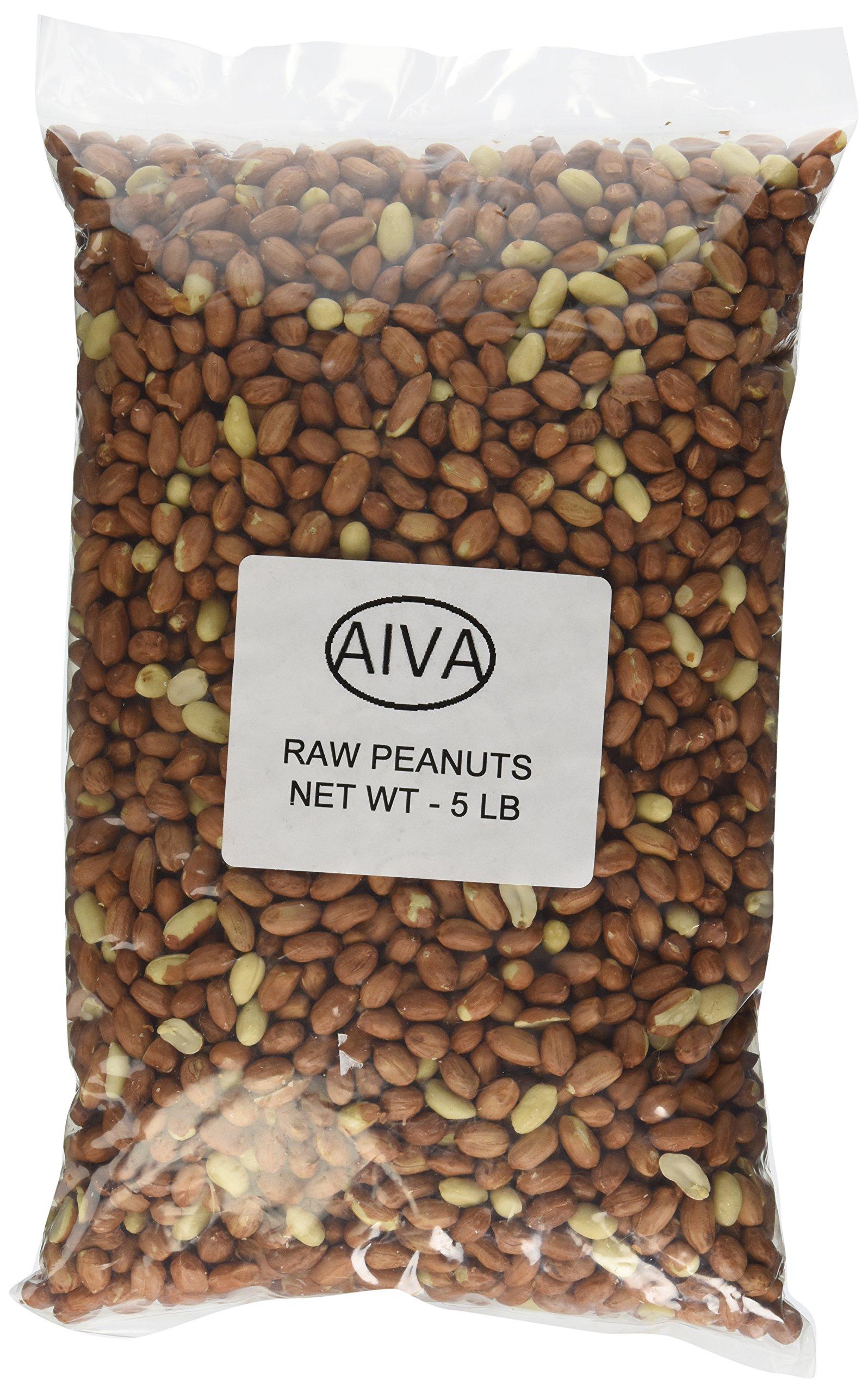 Raw Spanish Peanuts - 5 lb. Bulk Box
