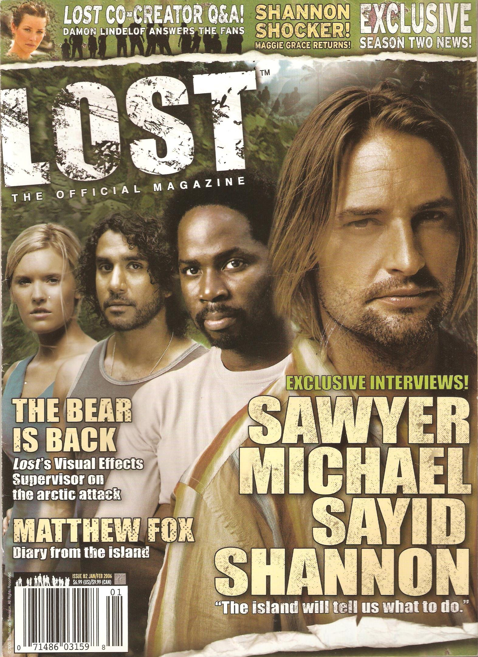 Lost the Official Magazine Issue 2 Jan/Feb 2006 PDF