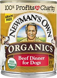 Newman's Own Beef Dinner Dog Food