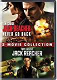 Tom Cruise 2 Movies Collection - Jack Reacher: Never Go Back + Jack Reacher (2-Disc)