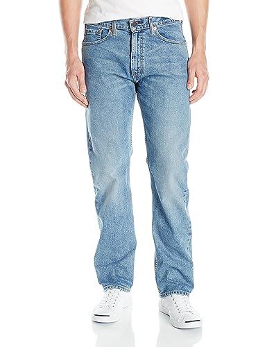 Levi's Men's 505 Regular Fit Jean Comfortable men jeans