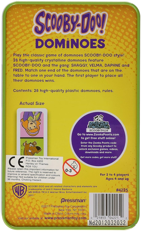 Scooby-doo Dominoes in a Tin Pressmen 4425