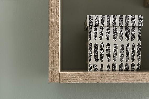FineBuy Wandregal ROSE Hängeregal 36x90x13,5cm Holz Wandboard Dekoregal Wand