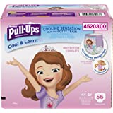 Pull-Ups Cool & Learn Training Pants for Girls, 4T-5T, 56 Count