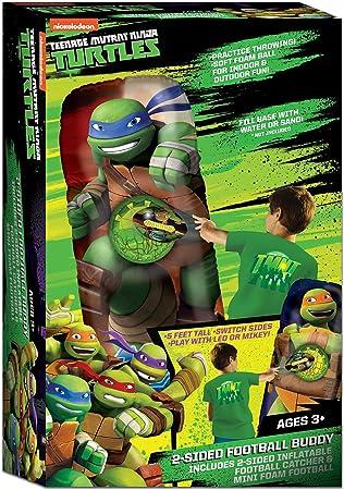 Ninja Turtles - Balón Hinchable de fútbol de Doble Cara - NT-FBL02 ...