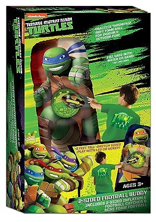 Ninja Turtles - Balón Hinchable de fútbol de Doble Cara - NT ...