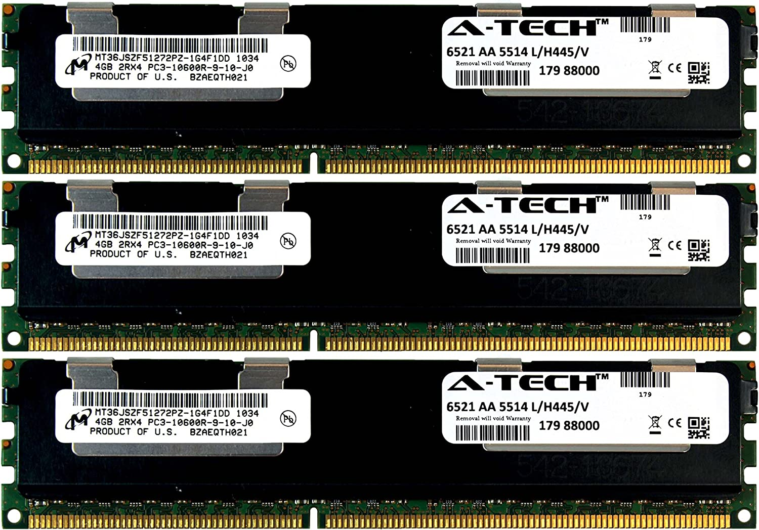 SNPMGY5TC//16G, 16GB MEMORY FOR DELL POWEREDGE R520 AND M520 SNPJDF1MC//16G