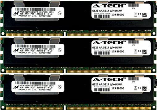 MEMORY FOR DELL POWEREDGE R510 R610 R710 R715 R815 T410 T610 T710 6X4GB 24GB