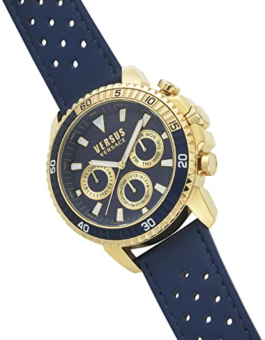 Amazon.com: Versus Versace Analog Blue Dial Mens Watch-S30020017: Watches