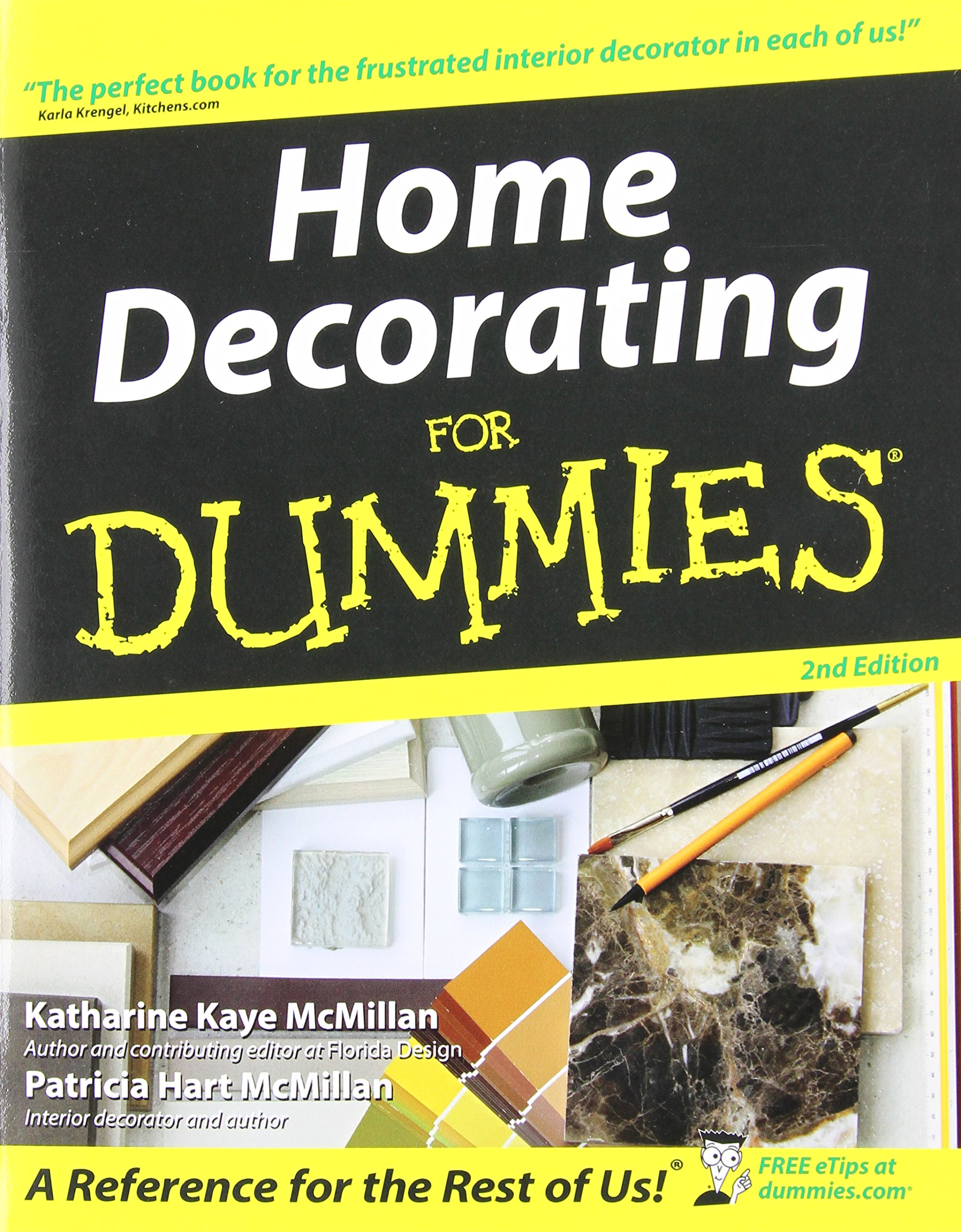 Home Decorating For Dummies Katharine Kaye McMillan Patricia Hart