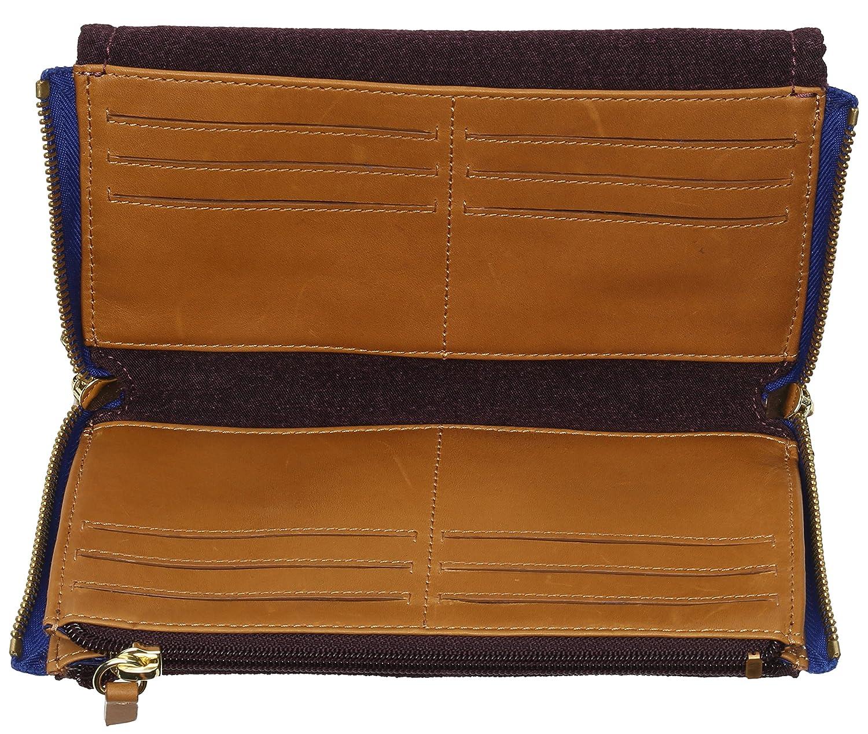 Full Of Money, Womens Wallet, Mehrfarbig (Aubergenious), 20x12x2 cm (B x H T) Kipling