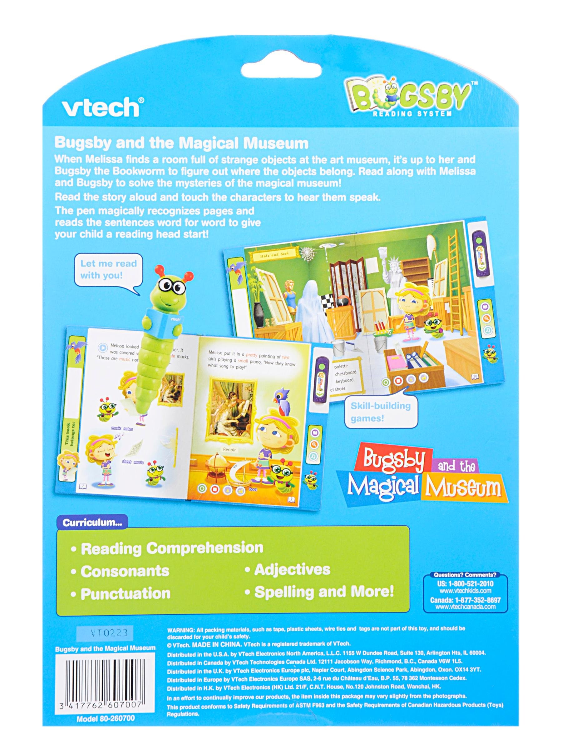 VTech Bugsby Reading System Book - Bugsby and The Magical Museum by VTech (Image #2)