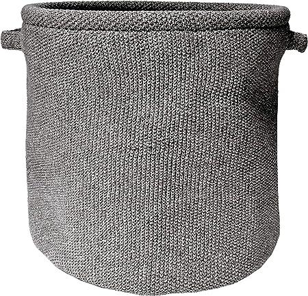 Nielsen Noa - Cesta de punto (algodón, 30 x 30 cm), color gris ...