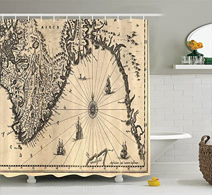 James strain wanderlust decor collection ancient map of southern james strain wanderlust decor collection ancient map of southern part of the norway vikings world gumiabroncs Images