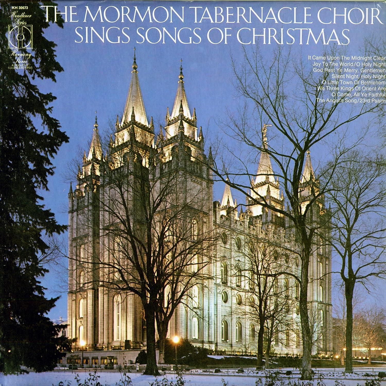 The Mormon Tabernacle Choir The Mormon Tabernacle Choir Sings Songs Of Christmas Vinyl Lp Stereo Amazon Com Music