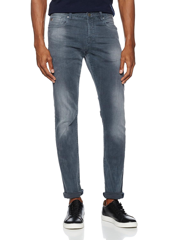 Scotch & Soda Herren Straight Jeans Nos Ralston-Concrete Bleach