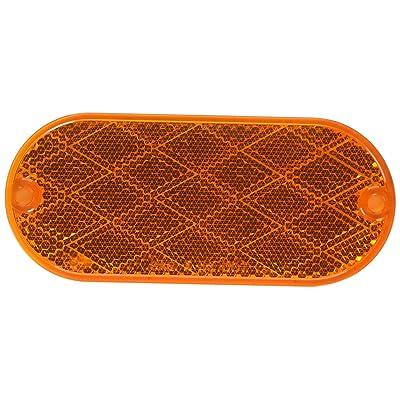 Optronics (RE-11ABP Amber Reflector: Automotive