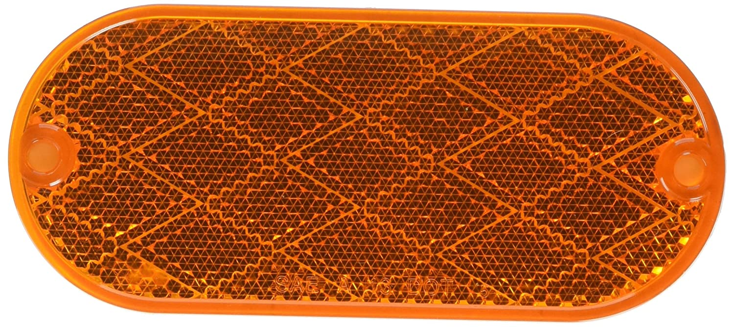 Optronics RE-11ABP Amber Reflector