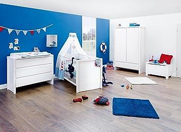 Pinolino Aura Kinderzimmer Möbel Set Breit Weiß 3 Teilig Amazon
