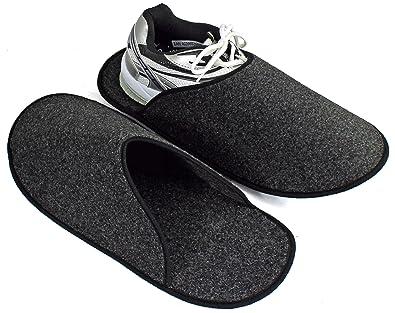 b44ee7c74db96 Sur-chaussons d Intérieur Légers pour Chaussures pantoufles musée ...