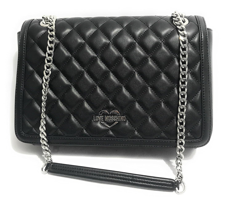 cbdc26fe042 Love Moschino Superquilted Shoulder Bag black  Amazon.co.uk  Clothing