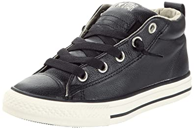 uk availability 85110 b73bc Converse Chuck Taylor Street Mid Black Tidal Foam Little Kids 10.5