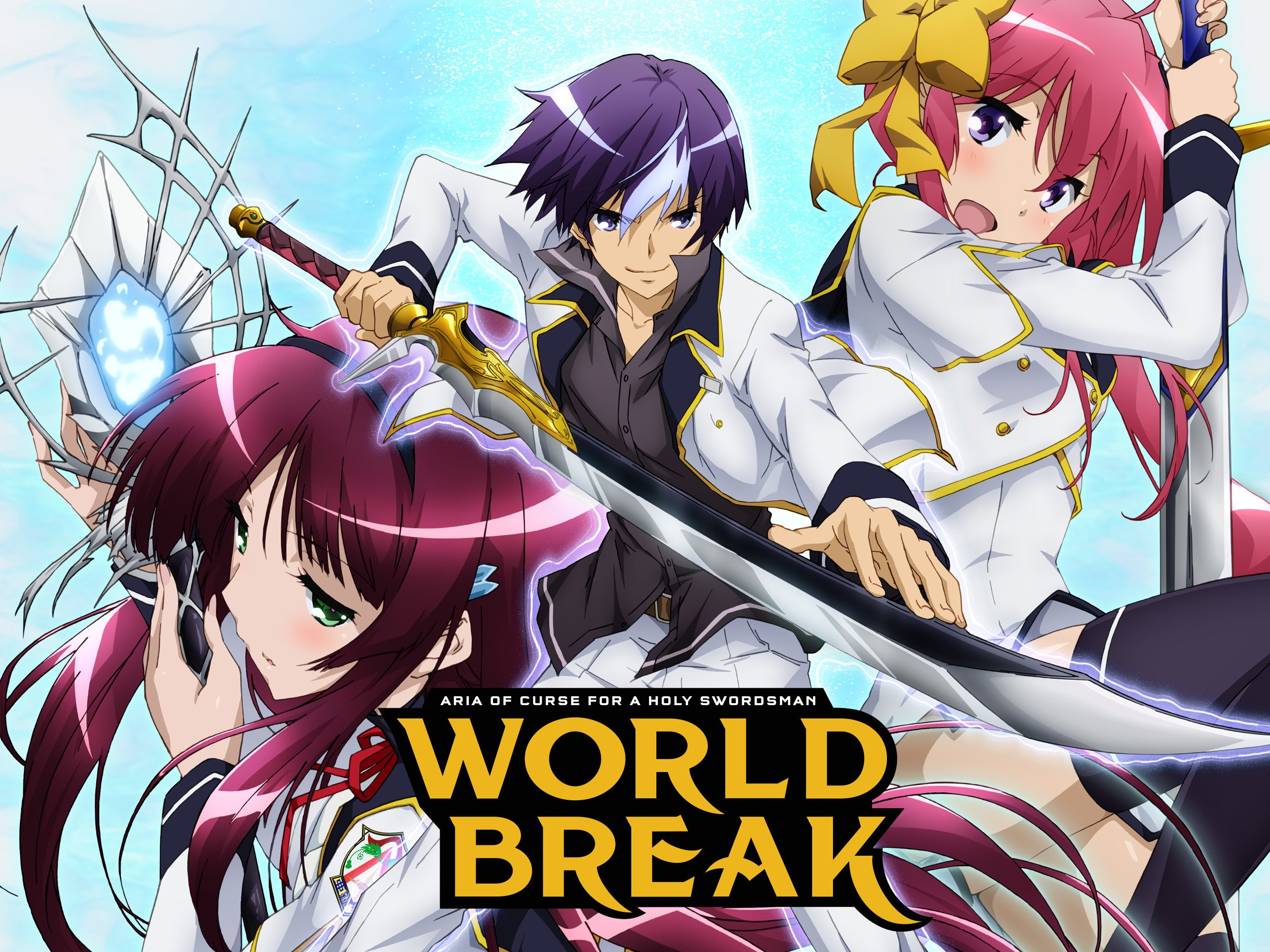 Amazon com: Watch World Break: Aria of Curse for a Holy Swordsman