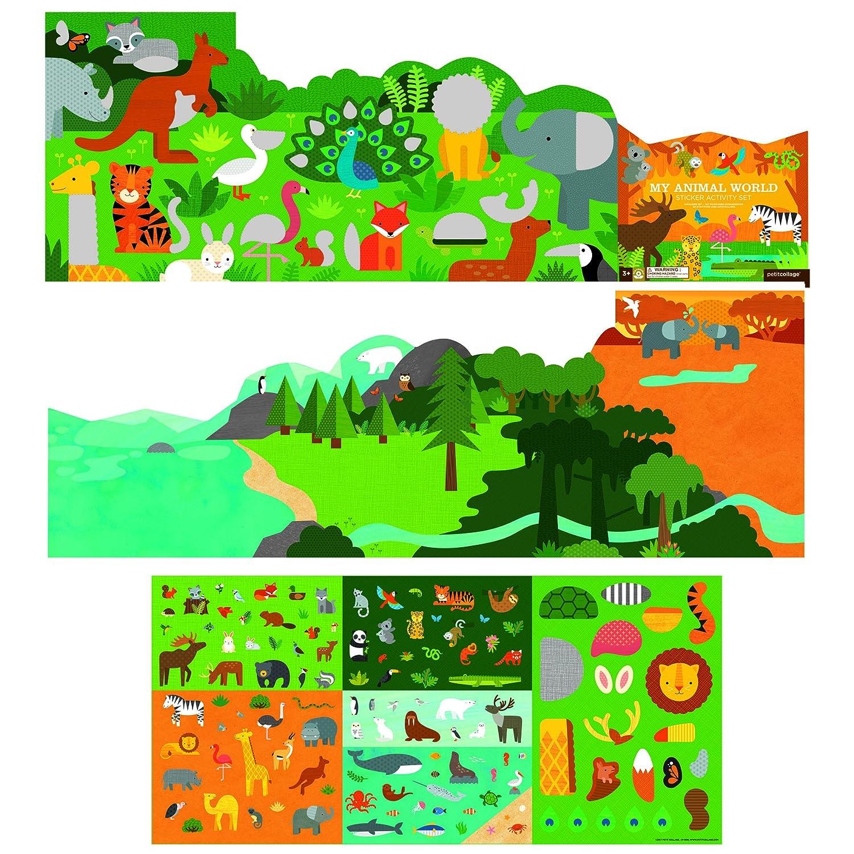 Petit collage sticker Activity set