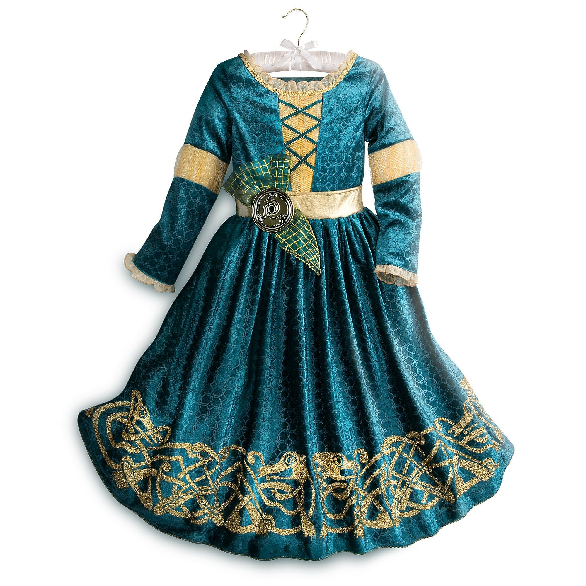 Disney Merida Costume for Kids Size 5/6 Green