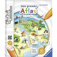 Ravensburger 00628 - Jeu Éducatif Électronique - Livre - Mon Premier Atlas Tiptoi