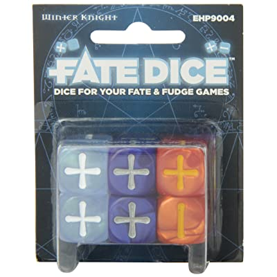 Fate Core Dice: Winter Knight: Toys & Games