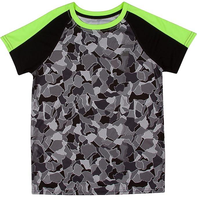 15ecb9f319d682 New Balance Little Boys  Print Performance T-Shirt