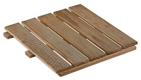Gartenwelt riegelsberger piastrelle in legno wpc per terrazza