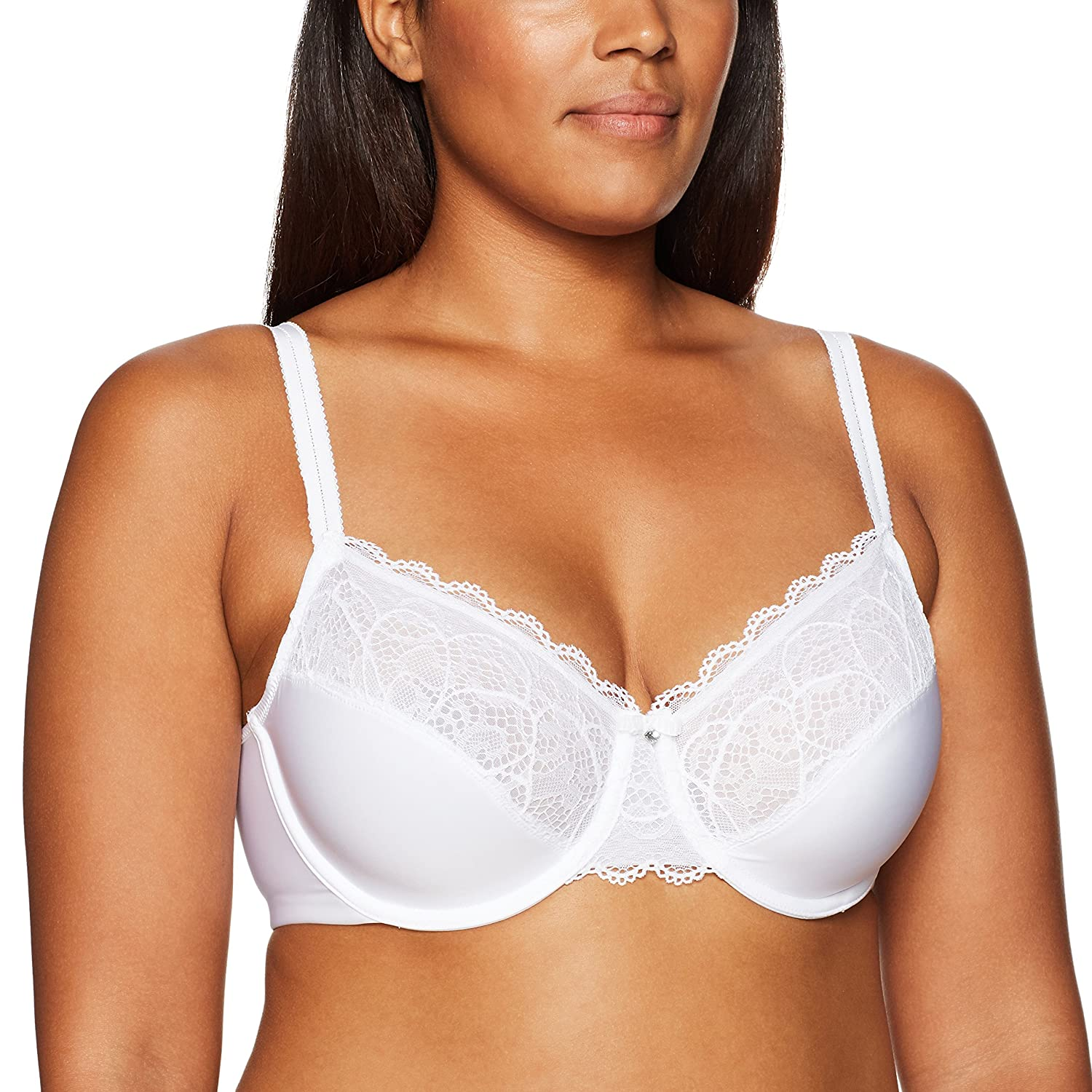 Bali Women's Lace Desire Smoothing Underwire Bra B1002