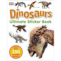 Ultimate Sticker Book Dinosaurs