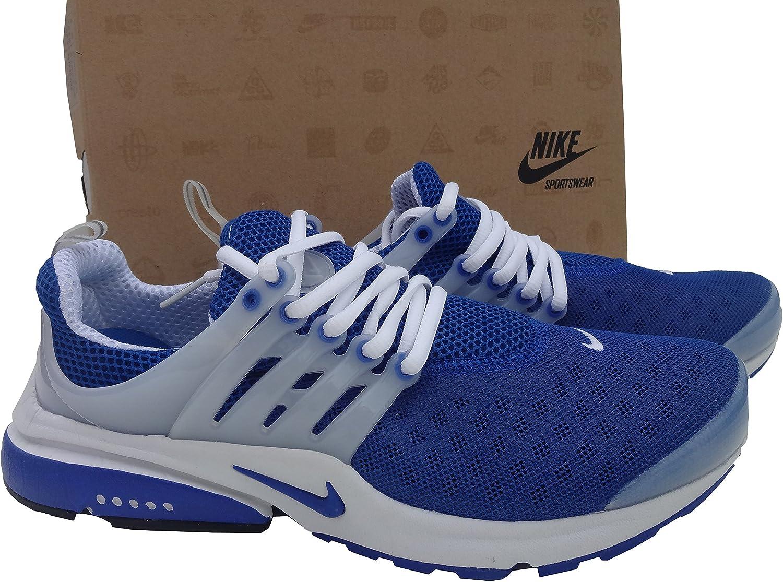 Nike Air Presto - Zapatillas Deportivas para Hombre, Talla 42, Azul y Blanco: Amazon.es: Zapatos y complementos