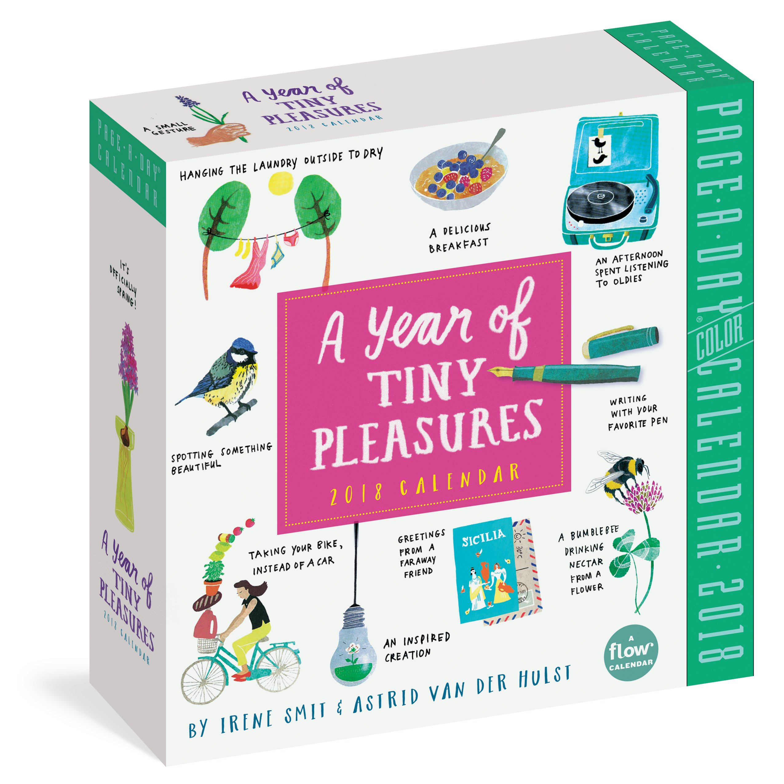A Year of Tiny Pleasures Page-A-Day Calendar 2018 (Flow