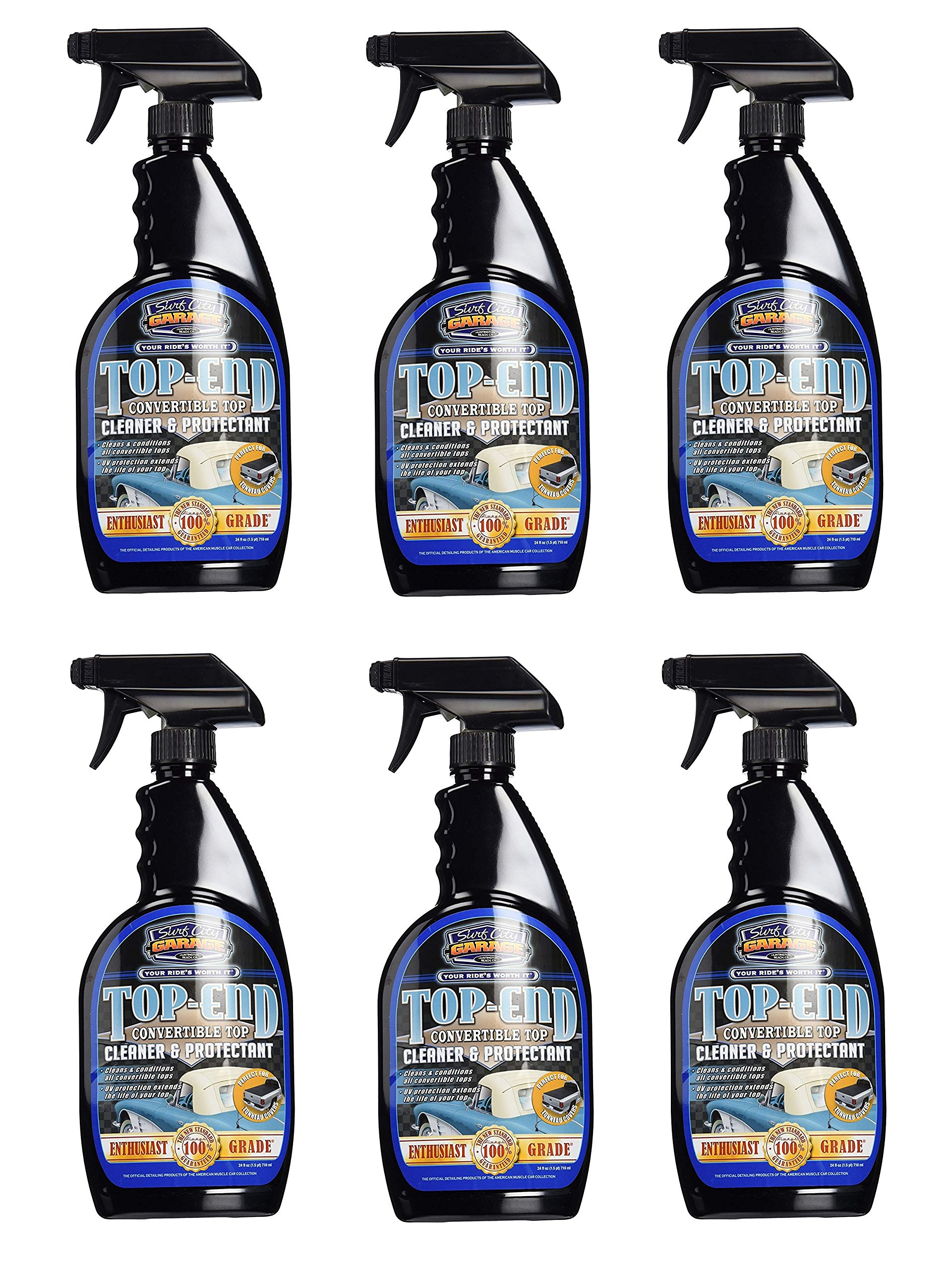 SURF CITY Garage 109 Top End Convertible Cleaner and Protectant, 24 fl. oz. (6)