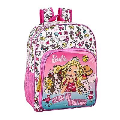 Barbie Celebration Oficial Mochila Escolar Niños 330x140x420mm, Rosa: Ropa y accesorios