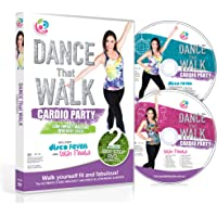 DANCE That WALK - CARDIO PARTY - Low Impact Walking Workout Pack with Two Easy 5000 Step DVDs (PAL)