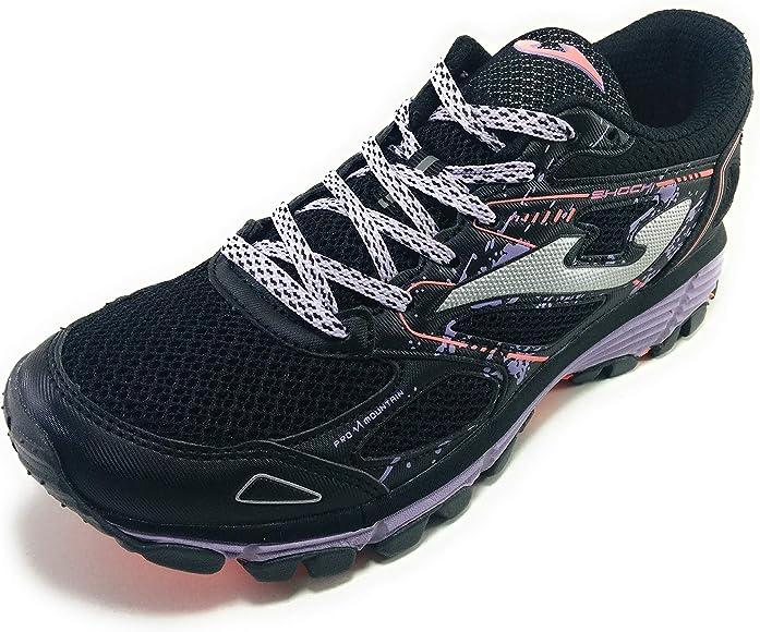 Joma Shock Zapatillas Trail Mujer Negras (37 EU): Amazon.es: Zapatos y complementos