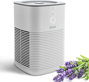 LEVOIT HEPA Air Purifier for Home Bedroom, Desktop Air Cleaners with Aroma Pad, 100% Ozone Free, 24dB, Dual H13 Filter Remove 99.97% Dust Mold Pollen Pet Dander, Smoke and Odor Eliminator