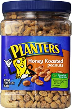2-Pack Planters Roasted Honey Peanuts (34.5-Ounce)