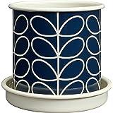 """Orla Kiely vástago lineal de tamaño mediano """"Diseño de gris"""" maceta–Multicolor"""