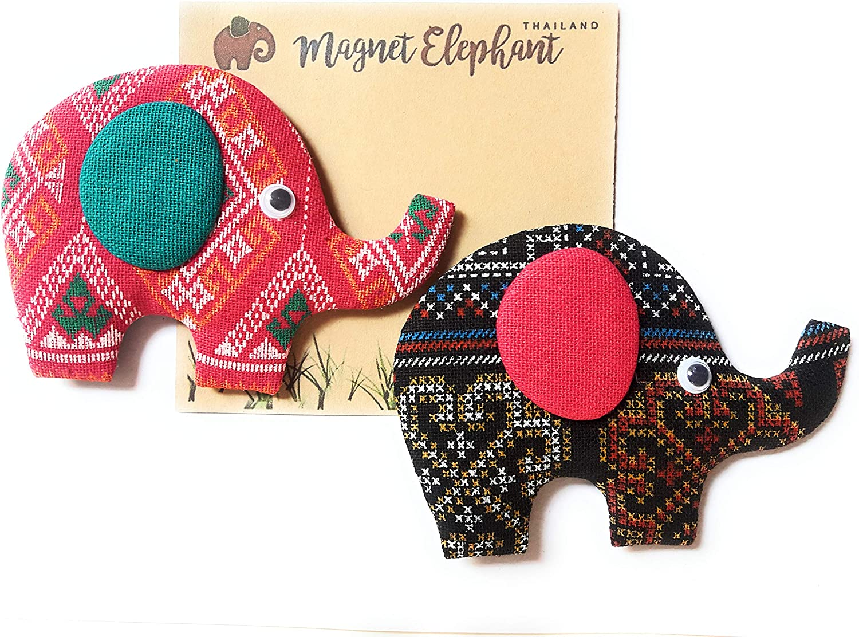 Thailand New Style Refrigerator Magnet Fridge Elephant Brown