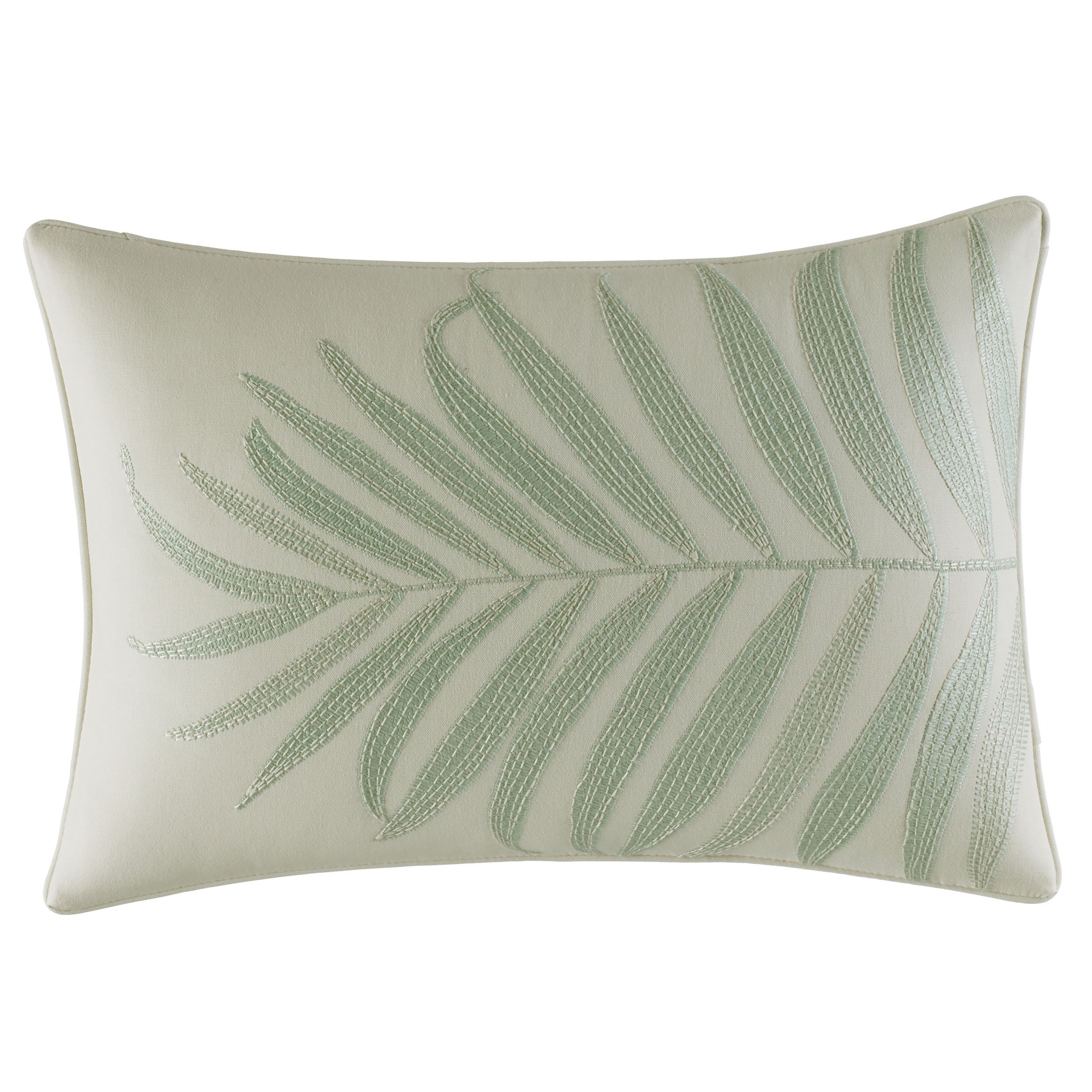 Tommy Bahama Abacos Throw Pillow, 14x20, Turquoise-Aqua