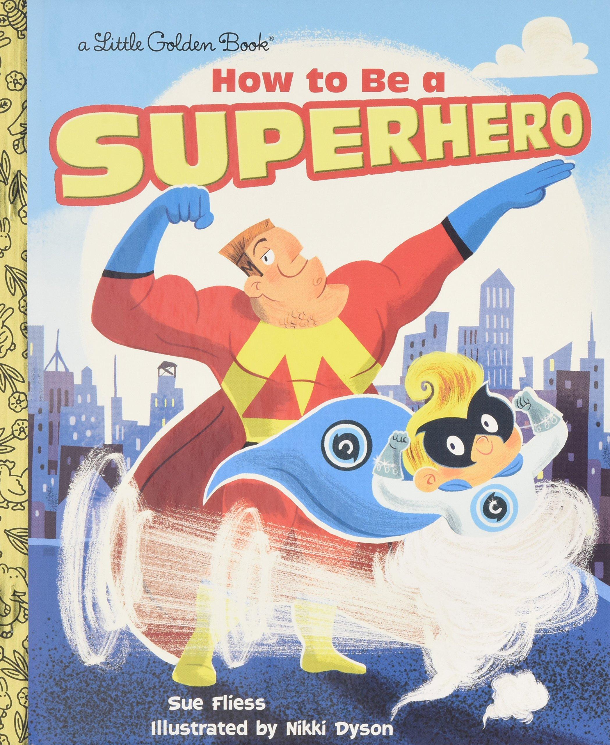 How Superhero Little Golden Book product image