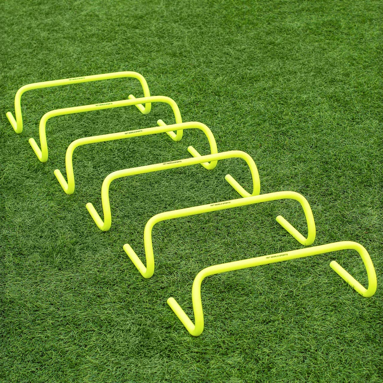 Set of 6 Workoutz Speed and Agility Training Hurdles